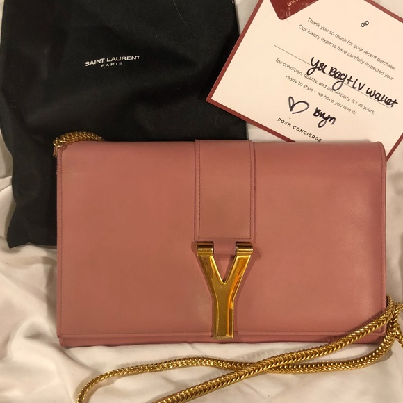 Yves Saint Laurent Bags   Ysl Medium Chain Wallet Crossbody Bag ... f017521a94